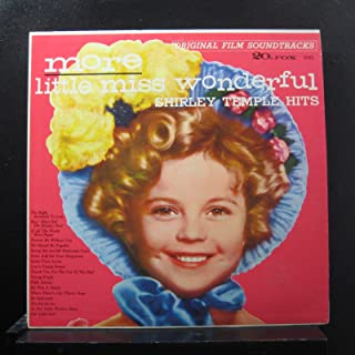 Shirley Temple - More Little Miss Wonderful - Lp Vinyl Record