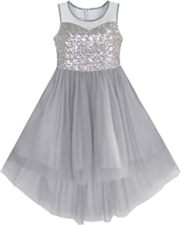 d8a190cd1d4ad Amazon.co.uk: Grey - Dresses / Girls: Clothing