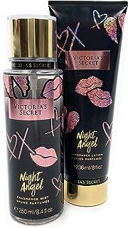 Victoria's Secret Night Angel Fragrance Body Mist and Body Lotion Set