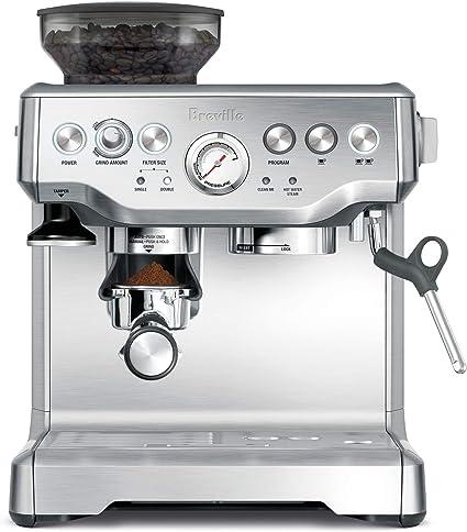 Breville Barista stainless steel coffee machine
