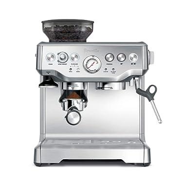 Breville BES870XL Barista Express Espresso Machine, Large, Stainless Steel