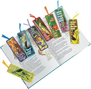 Fun Express Laminated Buggy Bookmarks - 48 Pieces - Educational and Learning Activities for Kids