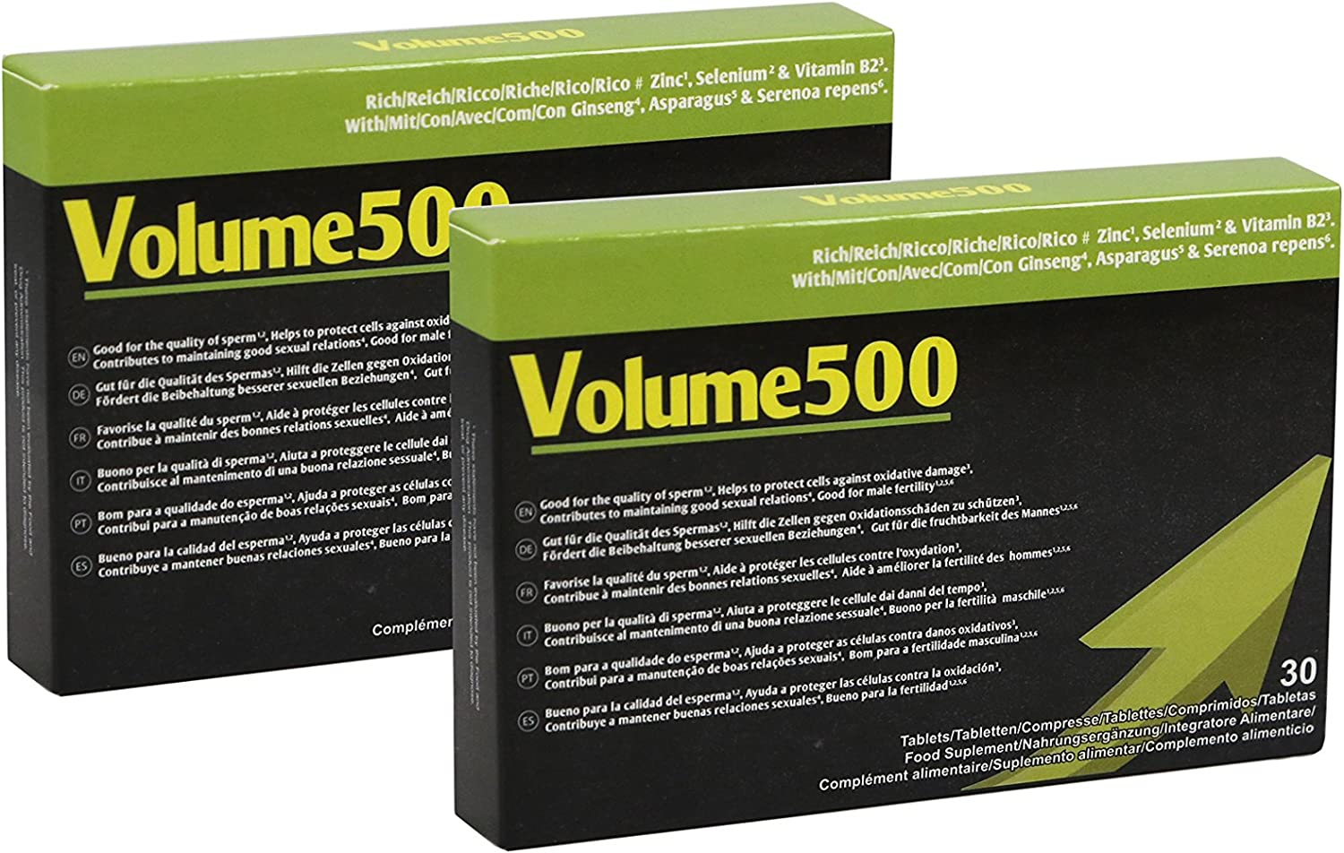 Volume500: Pills Max 66% OFF to Improve The Quality Quantity limited 2 Sperm of and Quantity