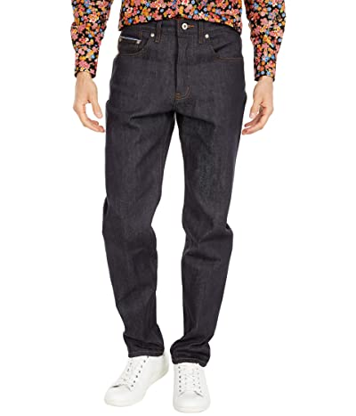 Naked & Famous Easy Guy in Forever Blue Stretch Selvage Jeans (Indigo) Men