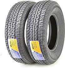 2 New Premium Trailer Tires ST 205 75R15 / 8PR Load Range D Steel Belted