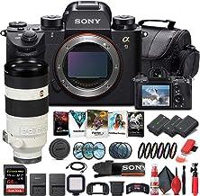 Sony Alpha a9 Mirrorless Digital Camera (Body Only) (ILCE9/B) + Sony FE 100-400mm Lens + 64GB Memory Card + 2 x NP-FZ-100 ...