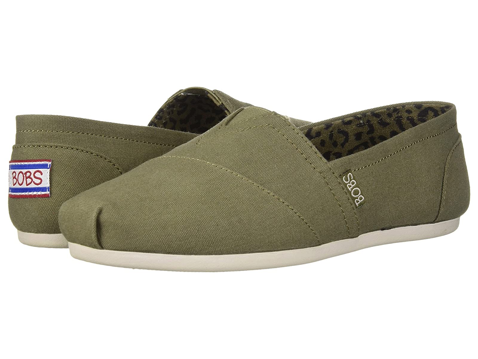 BOBS from SKECHERS Bobs Plush - Peace and LoveAtmospheric grades have affordable shoes