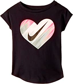 Nike Kids - Heart Gradient Morph Short Sleeve Tee (Toddler)