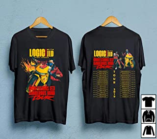 LOGIC The Confessions Of A Dangerous Mind Tour 2019 With JID And YBN Cordae T-Shirt, Birthday gift shirt, Gift shirt, Hoodie