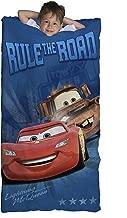 Jay Franco Cars Slumber Bag, Blue Road
