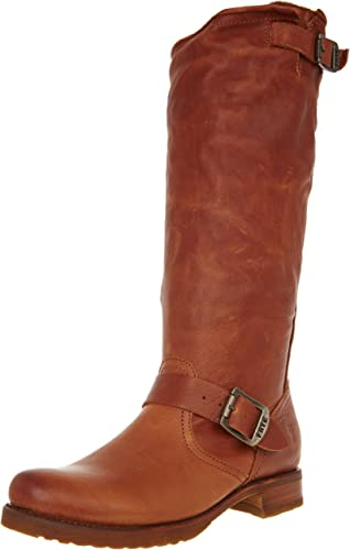 FRYE damen& 039;s Veronica Slouch Stiefel, Whiskey Soft Vintage Leather, 8.5 M US