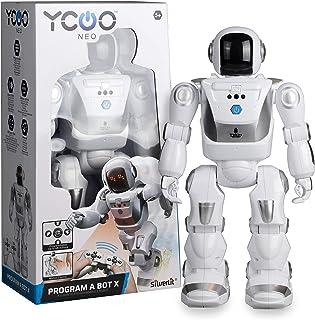 Ycoo by Silverlit - Program a Bot X, Robot Radiocommandé Programmable, 40 cm - 48 Actions Programmables - Capteurs de Mouv...