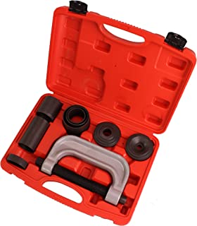 CARTMAN 4-in-1 Ball Joint Deluxe Service Kit Tool Set 2wd & 4wd Vehicles Remover Install, with 4-Wheel Drive Adapters
