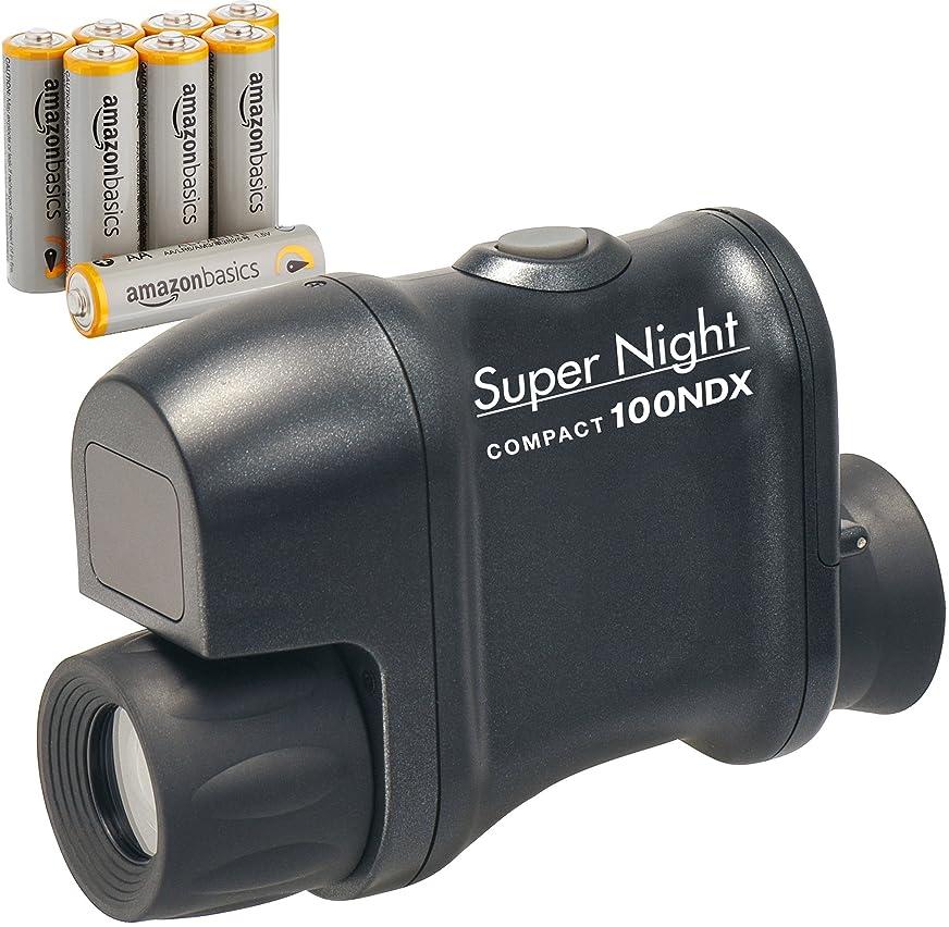 最高動機付ける症候群Kenko 暗視鏡 Super Night COMPACT 100NDX 電池セット 2.5倍 20口径 145647