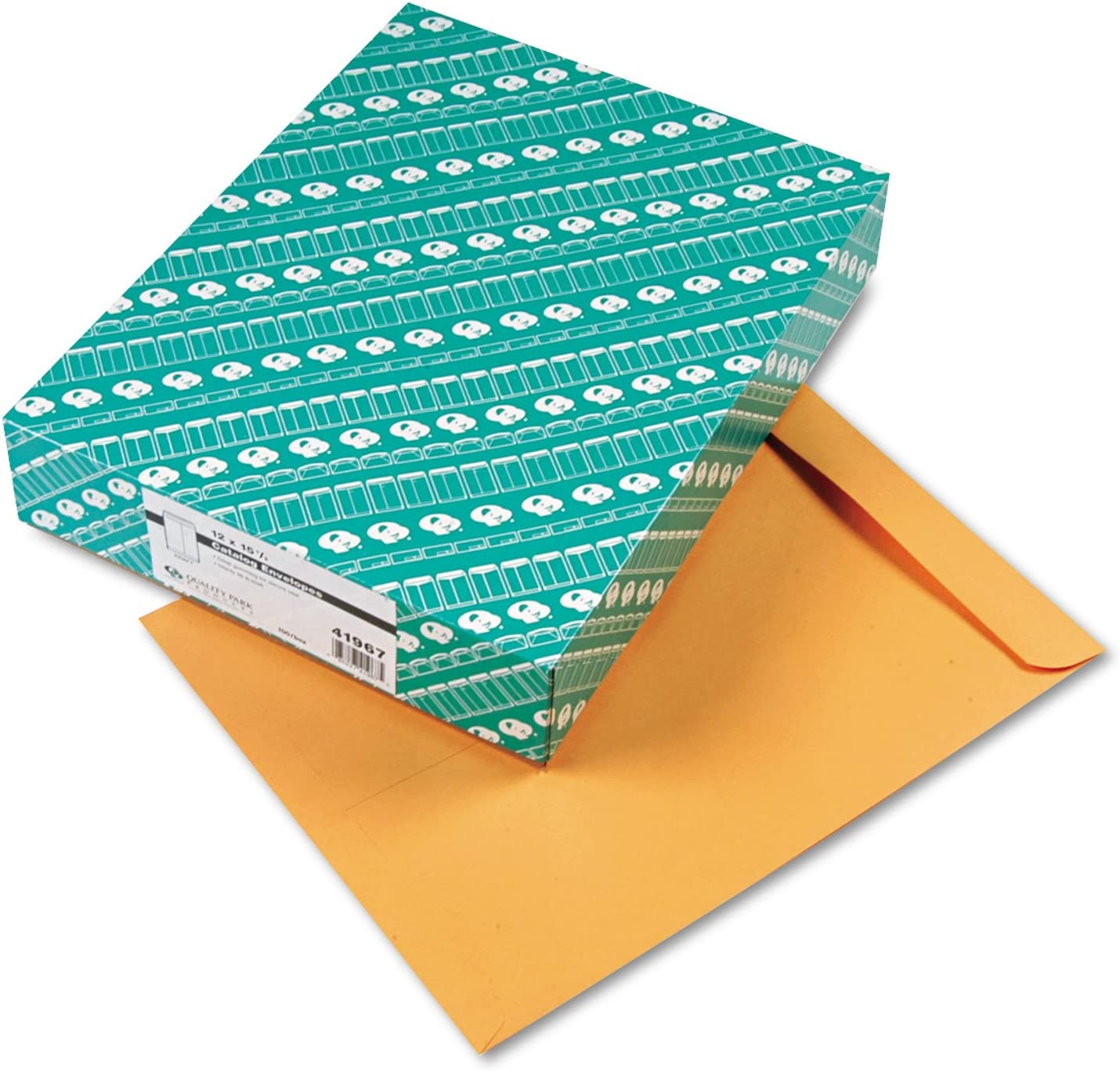Quality Park 41967 Catalog Envelope x15-1 New Orleans Mall Plain 12-Inch New product!! 28Lb