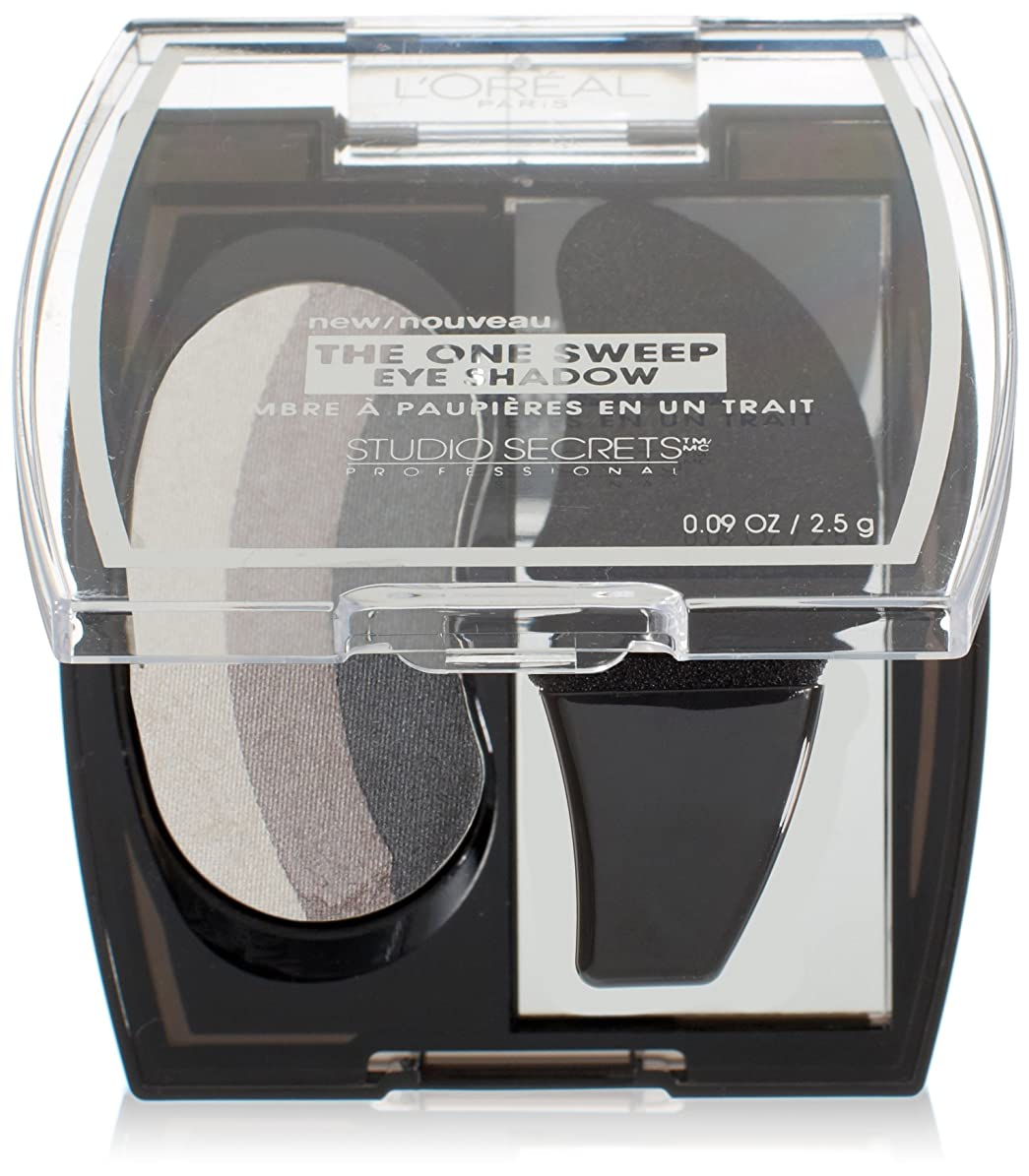 なぞらえる詩増加するL'OREAL THE ONE SWEEP EYE SHADOW #308 SMOKY FOR GREEN EYES