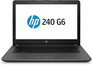 "Notebook HP 240 G6, Intel Core i3 6006U, 4GB RAM, 500GB, tela 14"", Windows 10"
