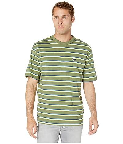 PUMA Downtown Stripe Tee (Olivine) Men