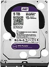 WD Purple 5TB Surveillance Hard Disk Drive - 5400 RPM Class SATA 6 Gb/s 64MB Cache 3.5 Inch - WD50PURX