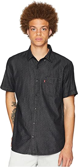 Cayman Short Sleeve Denim Dobby Woven