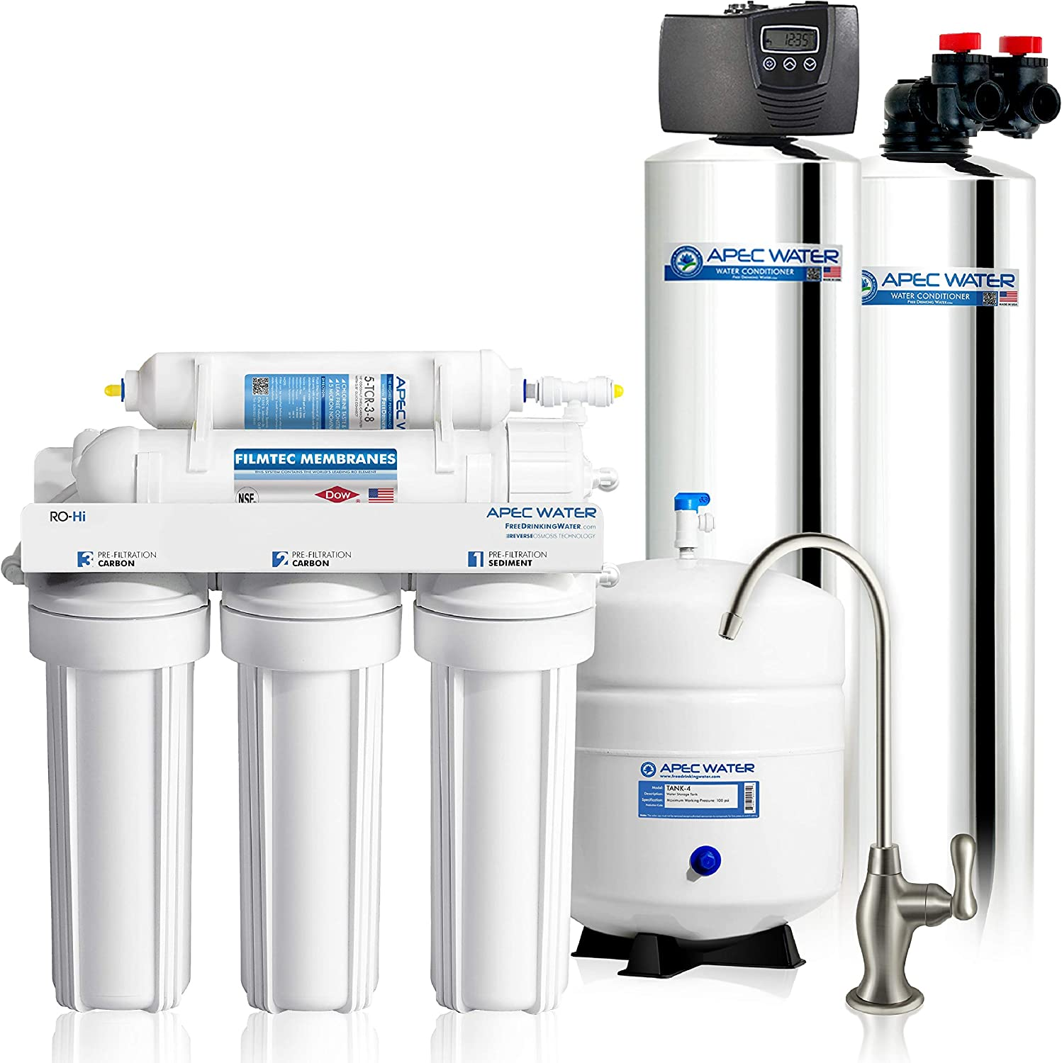 Cash special price APEC Water Systems TO-SOLUTION-10 House Super popular specialty store Whole Filter Salt