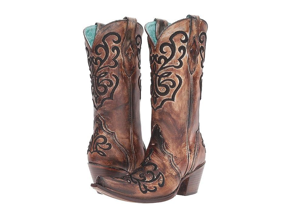 Corral Boots C3009 (Brown/Bronze) Women