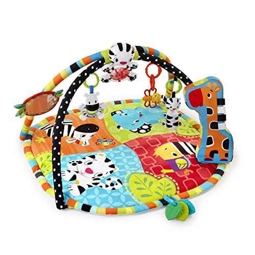 Bright Starts Tapis d'Eveil Safari Spots & Stripes