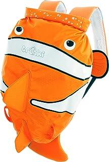 Trunki Kid's Waterproof Swim & Gym Bag – PaddlePak Chuckles ClownFish (Orange)