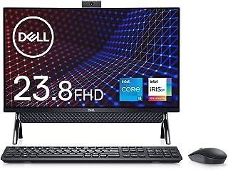 Dell フレームレスデスクトップ Inspiron 24 5400 ブラック Win10/23.8FHD/Core i5-1135G7/8GB/256GB SSD+1TB HDD/Webカメラ/無線LAN AI556A-BHLB【Window...
