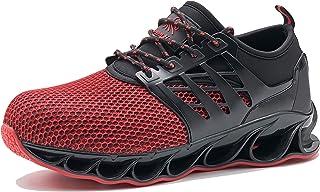 Steel Toe Sneakers for Men and Women Fashion Lightweight...