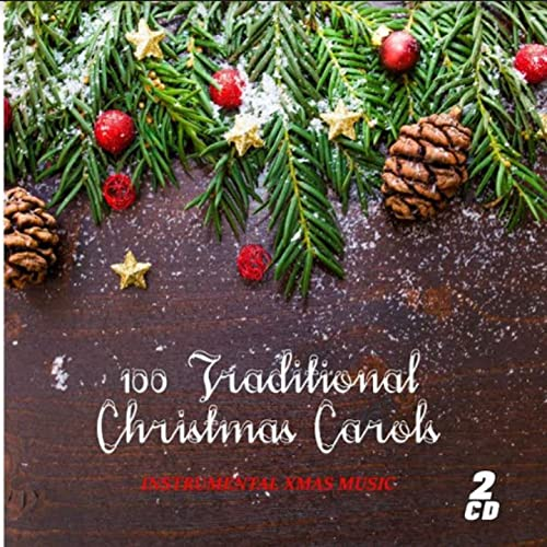Instrumental Christmas Music.100 Traditional Christmas Carols Instrumental Christmas