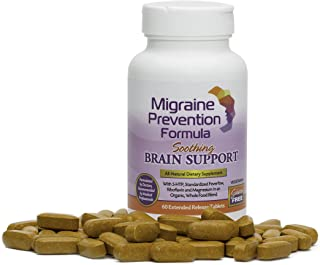 Dr. Knowles - Migraine Prevention Formula - 60 - Caplets - Headache Treatment and Relief - Prevent Migraines While You Treat