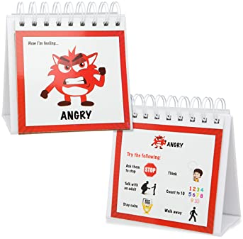 The Original Mood Flipbook for Kids; 20 Different Moods/Emotions; Autism; ADHD; Help Kids Identify Feelings and Make ...
