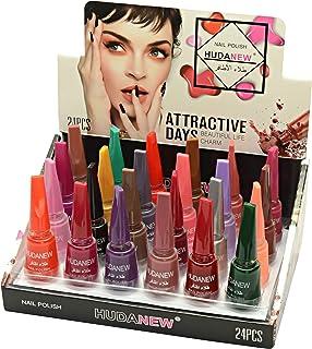 HUDA NEW Nail Polish 24 Colors Long Lasting Set