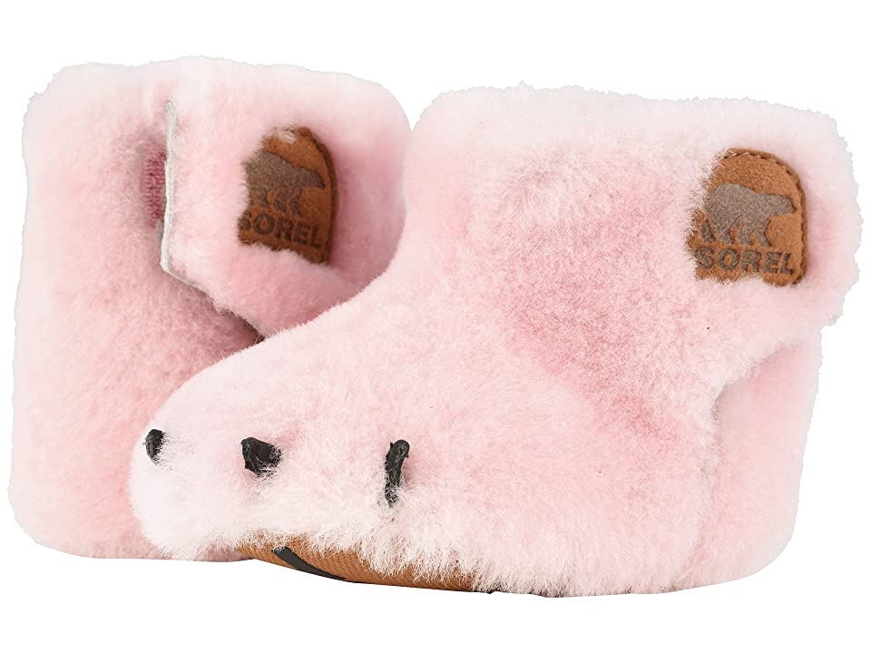 SOREL Kids Bear Paw Slipper (Infant) (Dusty Pink/Elk) Girls Shoes