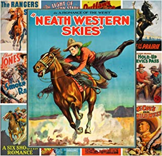 Mini Posters Set [13 posters 8x11] Wild West Western Cowboys # Movie Poster Reprint