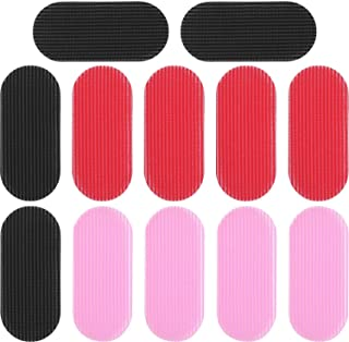 Boao 12 Pieces Hair Holders for Man Woman Hair Fringe Sticker Hair Holders (Color Set 1)