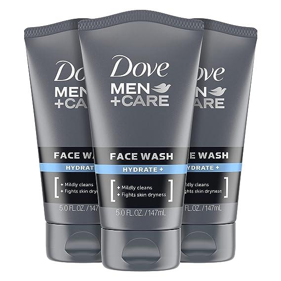Dove Men+ Face Wash Hydrate Plus Skin Care, 5 Oz,