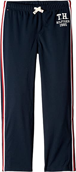 Track Pants with VELCRO® Brand Closure at Outside Hem (Little Kids/Big Kids)