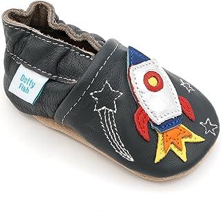 61dd2b559d5a5 Chaussures Cuir Souple pour Tout-Petits et Bébé. Chaussons pour Les