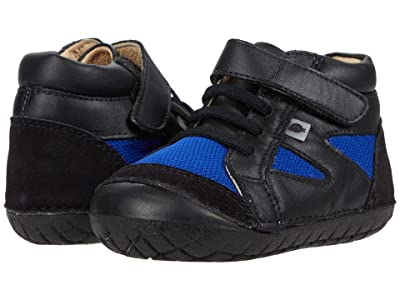 Old Soles Pave Squad (Infant/Toddler) (Black/Cobalt Mesh/Black) Boy