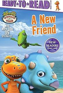 A New Friend (Jim Henson's Dinosaur Train: Ready-to-Read. Ready-to-Go!)