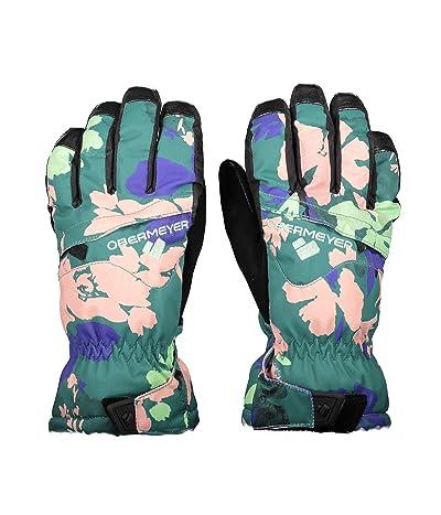Obermeyer Kids Lava Gloves (Little Kids/Big Kids) (Tropicamo) Extreme Cold Weather Gloves