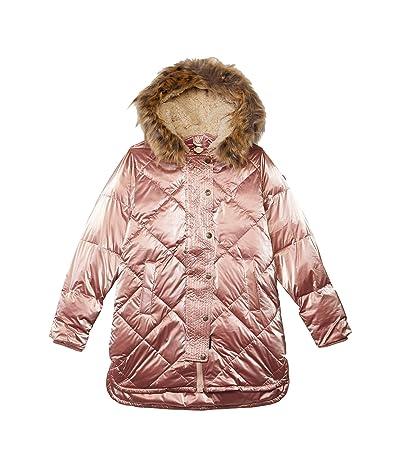 Appaman Adaptive Kids Sloan Puffer Coat (Little Kids/Big Kids) (Rose Gold) Girl