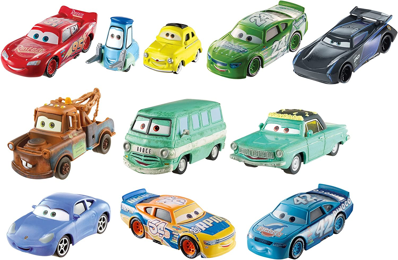 Pixar Cars 3 Florida Speedway Die-Cast 10-Pack Super Disney