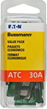 Bussmann (VP/ATC-30-RP) Green 30 Amp 32V Fast Acting ATC Blade Fuse, (Pack of 25)