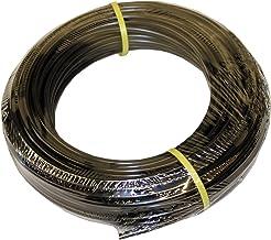 "ATP Value-Tube LDPE Plastic Tubing, Black, 1/8"" ID x 1/4"" OD, 100 feet Length, Pack of 5"