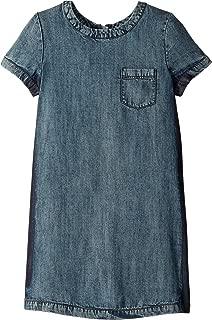 Ella Moss Girl Girl's Release Side Seam Denim Dress (Big Kids)