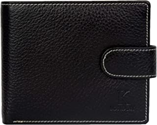 K London Leather Black Men's Wallet