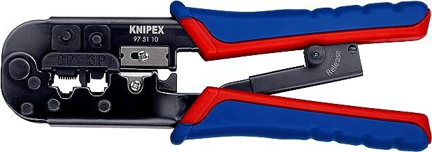 KNIPEX Krimptang voor Western-stekkers (190 mm) 97 51 10